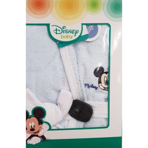 Accappatoio Neonato Mickey Mouse Disney Ellepi