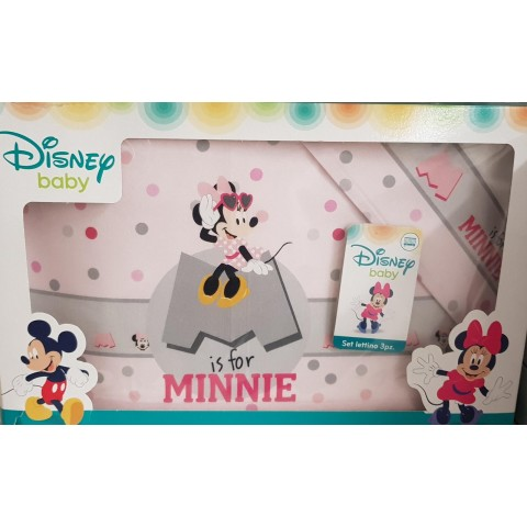 Completo Lettino EL0210 Minnie DISNEY
